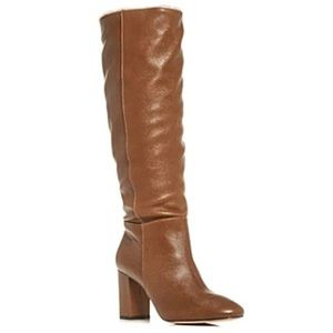 NWT Schutz Bonita Block High-Heeled Boots